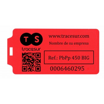 Security seal with big tag to customize