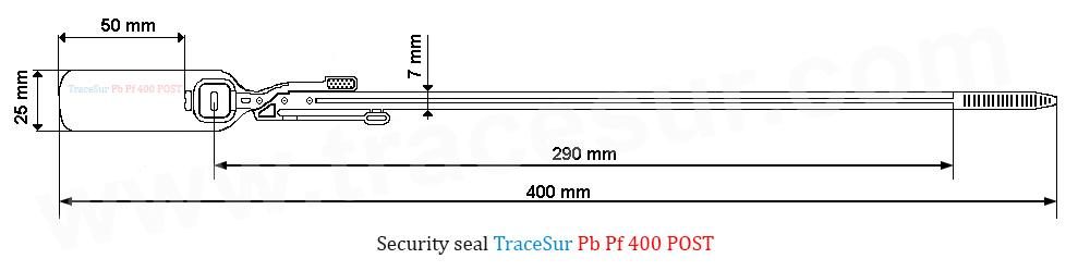 Technic design security seal PBPf400POST