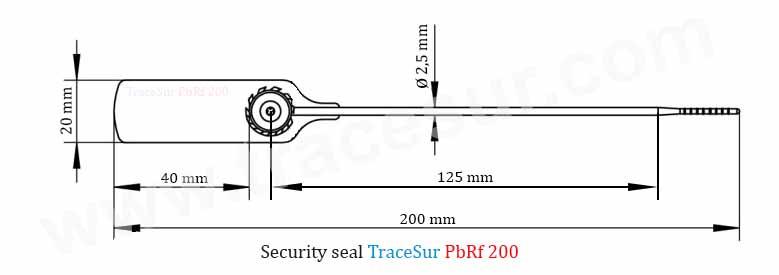 PbRf200 Technic design seal